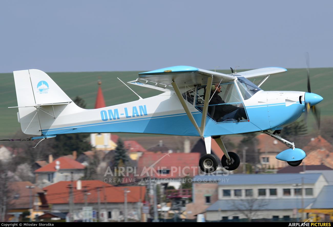 Aeroklub Nitra OM-LAN aircraft at Nitra