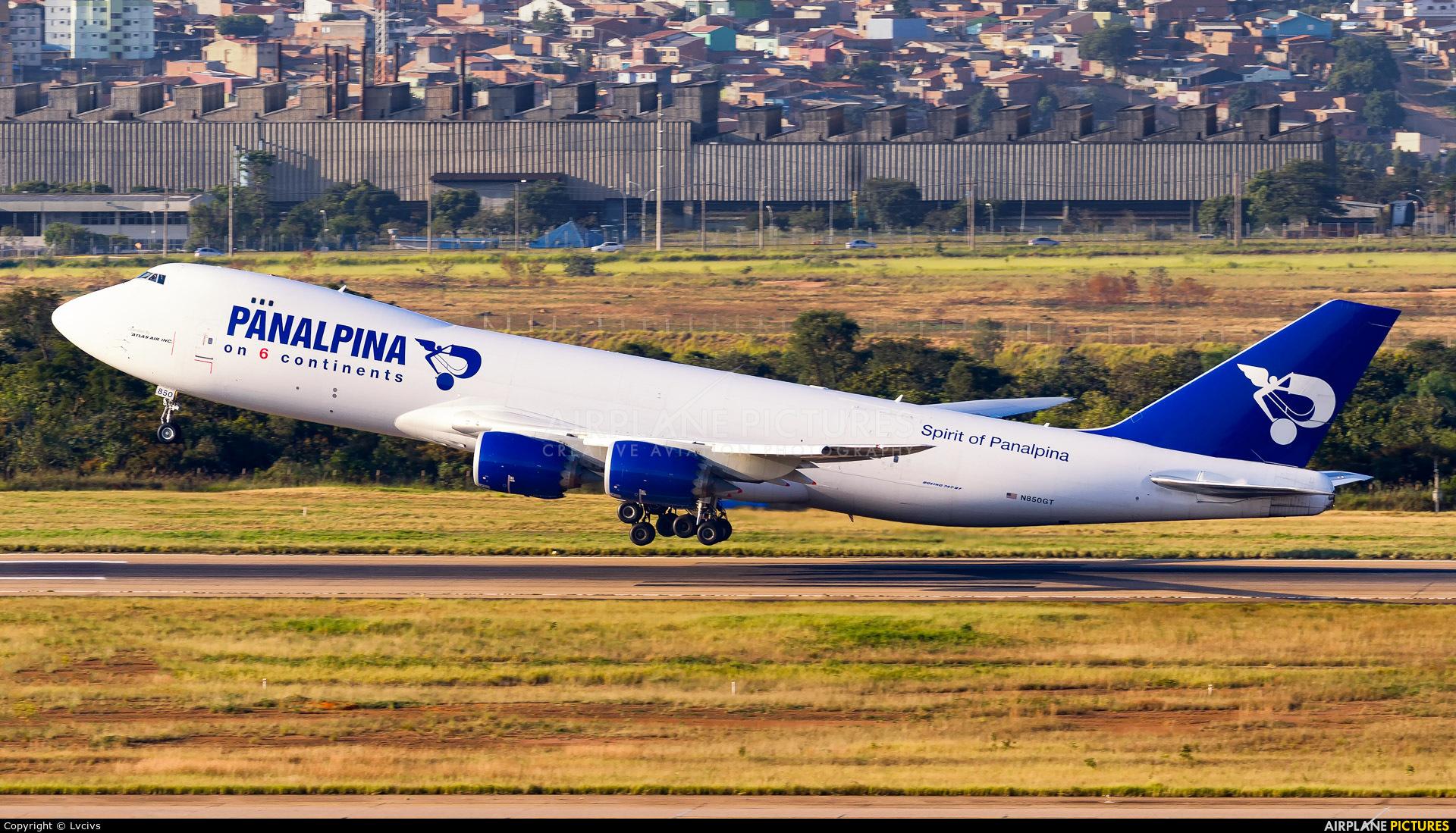 Panalpina N850GT aircraft at Campinas - Viracopos Intl