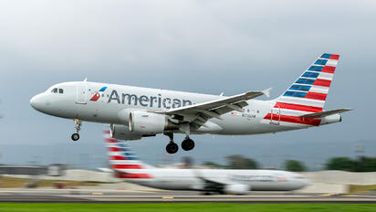 N716UW - American Airlines Airbus A319