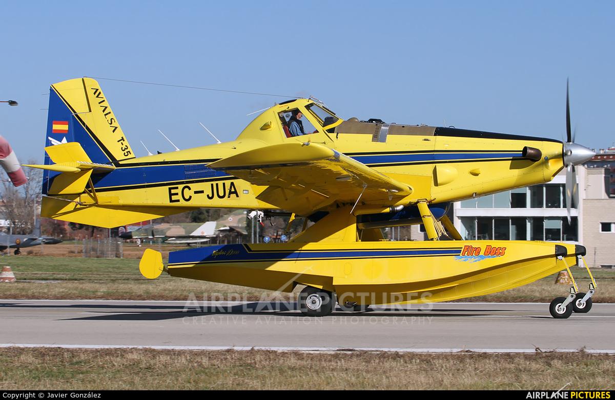 Avialsa EC-JUA aircraft at Sabadell