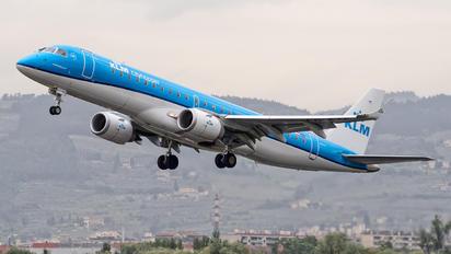 PH-EXF - KLM Cityhopper Embraer ERJ-190 (190-100)