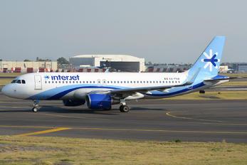XA-FUA - Interjet Airbus A320