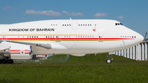A9C-HAK - Bahrain Amiri Flight Boeing 747-400 aircraft