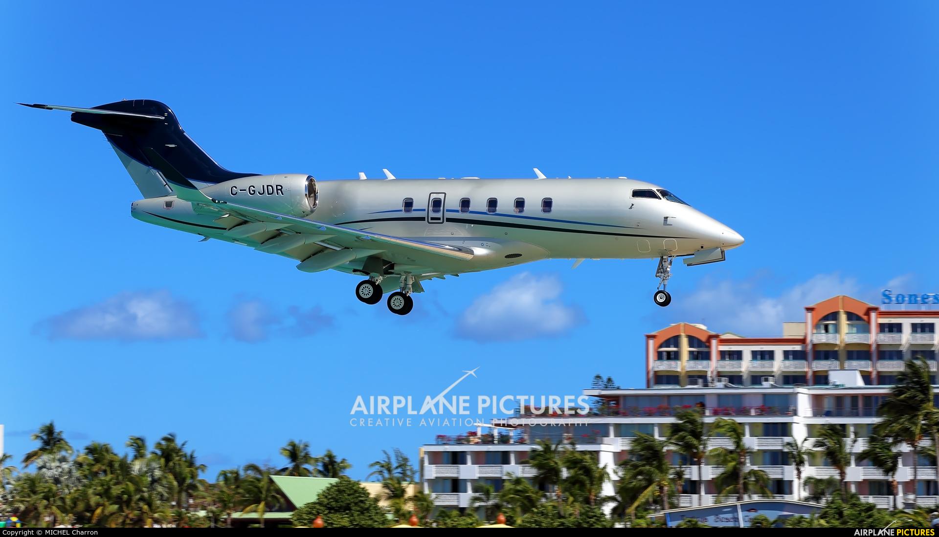 Private C-GJDR aircraft at Sint Maarten - Princess Juliana Intl