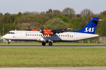 OY-JZG - SAS - Scandinavian Airlines ATR 72 (all models)