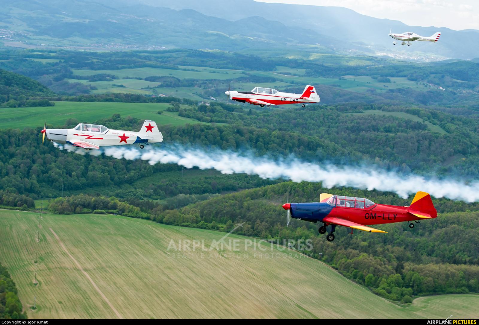 Aeroklub Spišská Nová Ves OM-LLY aircraft at In Flight - Slovakia