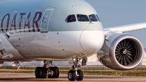 A7-BCZ - Qatar Airways Boeing 787-8 Dreamliner aircraft