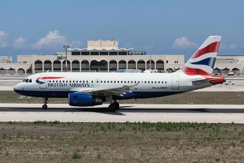 G-DBCE - British Airways Airbus A319