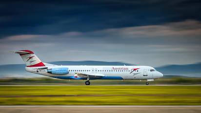 OE-LVA - Austrian Airlines/Arrows/Tyrolean Fokker 100