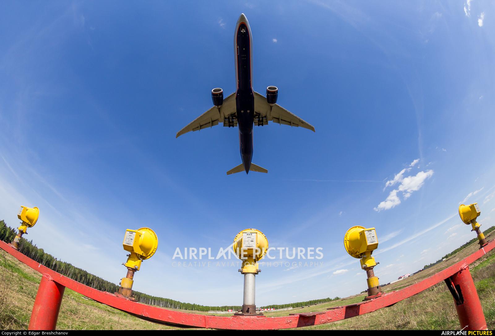 Aeroflot VQ-BQC aircraft at Moscow - Sheremetyevo