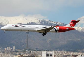 EP-TAQ - ATA Airlines Iran McDonnell Douglas MD-83