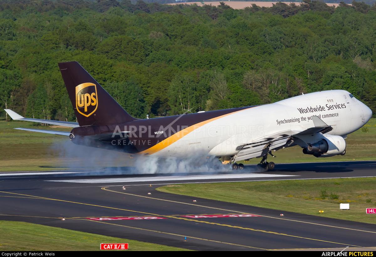 UPS - United Parcel Service N573UP aircraft at Cologne Bonn - Konrad Adenauer