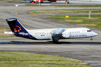 OO-DWB - Brussels Airlines British Aerospace BAe 146-300/Avro RJ100