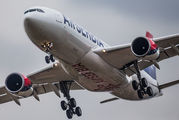 First A330 for Air Serbia title=