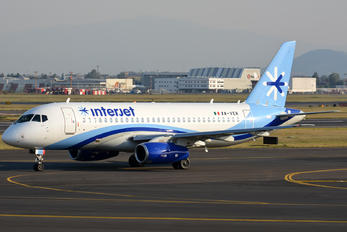 XA-VER - Interjet Sukhoi Superjet 100