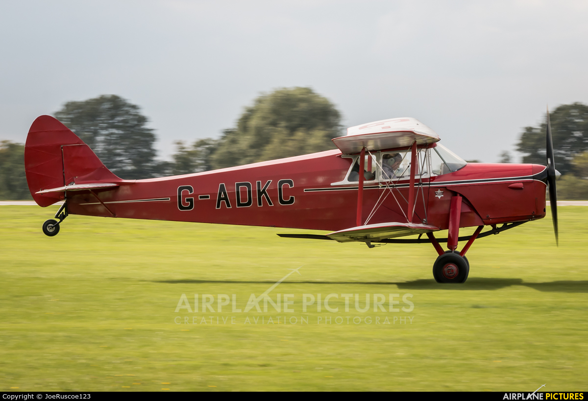 Private G-ADKC aircraft at Northampton / Sywell