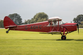 G-ADKC - Private de Havilland DH. 87 Hornet Moth