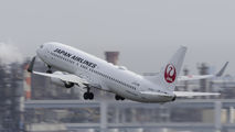 JA319J - JAL - Japan Airlines Boeing 737-800 aircraft