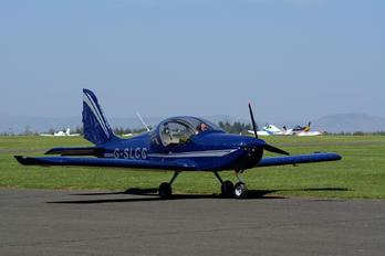 G-SLCC - Scottish Aero Club Evektor-Aerotechnik EV-97 Eurostar SL
