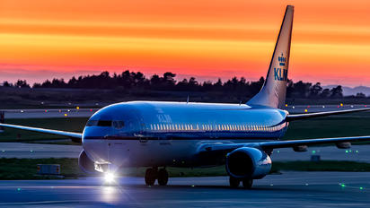 PH-BXK - KLM Boeing 737-800