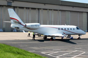 VH-PFV - Private Gulfstream Aerospace G150