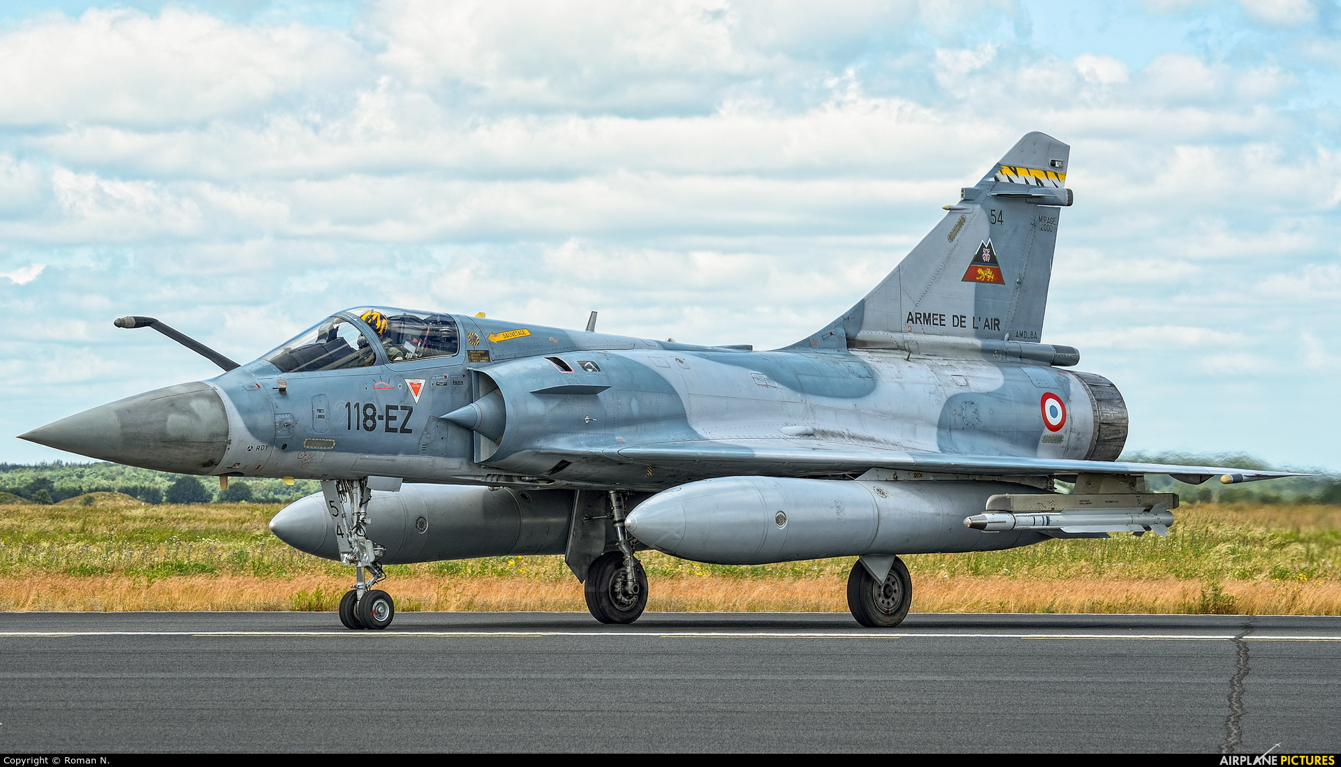 France - Air Force 54 aircraft at Schleswig-Jagel