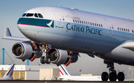 B-HXE - Cathay Pacific Airbus A340-300 aircraft