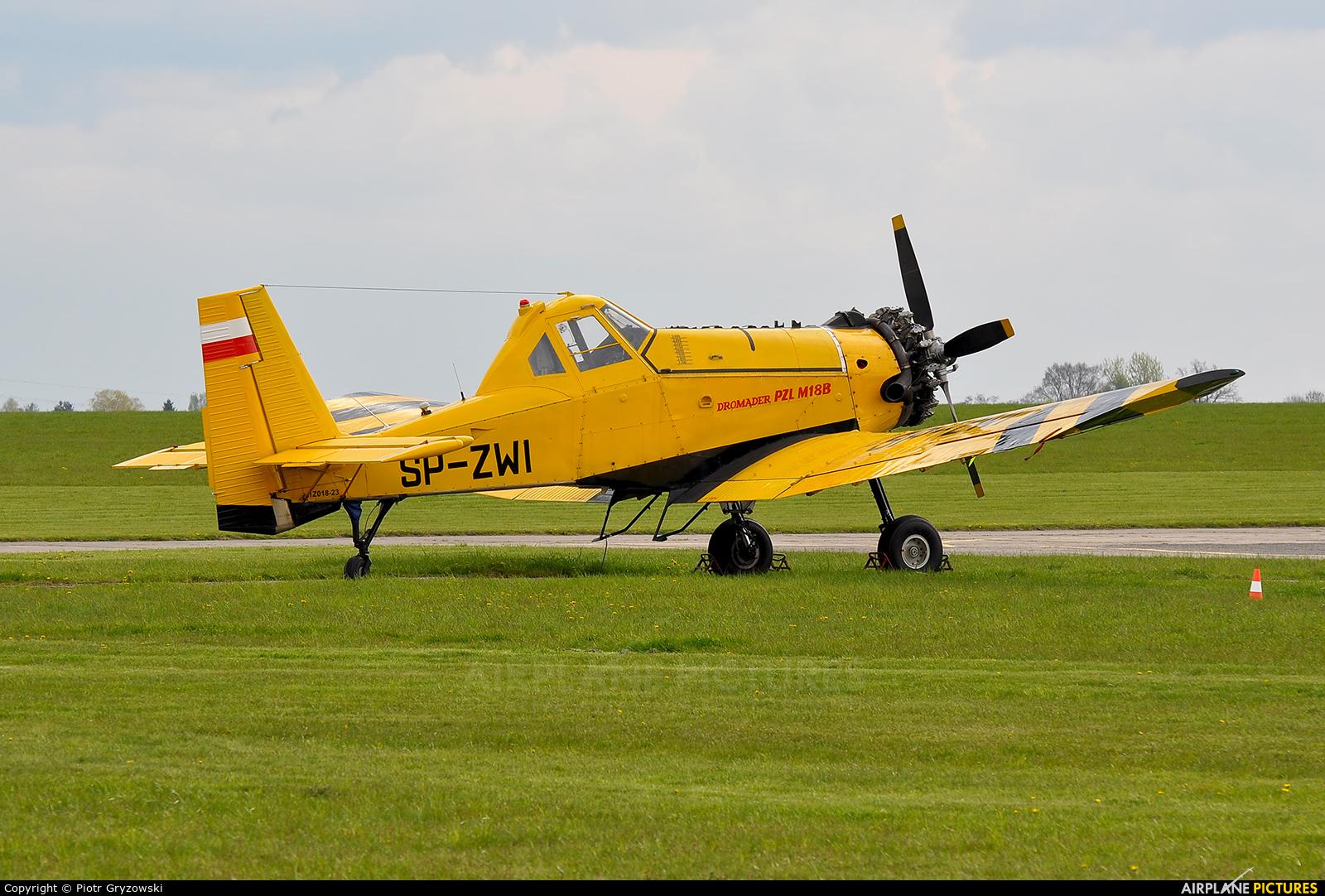 ZUA Mielec SP-ZWI aircraft at Czestochowa - Rudniki