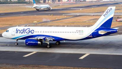 VT-IDH - IndiGo Airbus A320