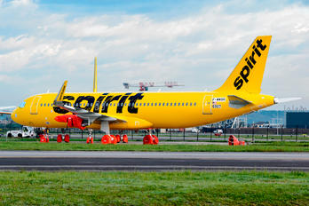 F-WWBR - Spirit Airlines Airbus A320 NEO