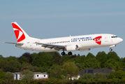 OM-GTB - CSA - Czech Airlines Boeing 737-400 aircraft