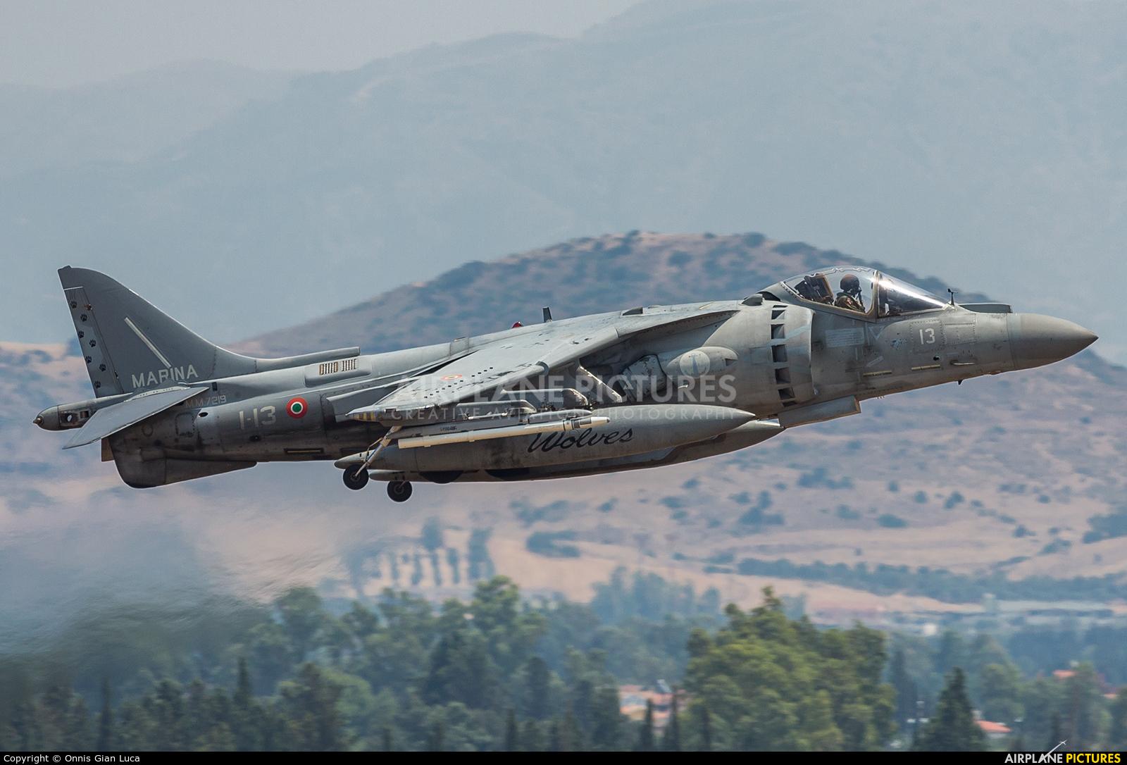 Italy - Navy MM7219 aircraft at Decimomannu