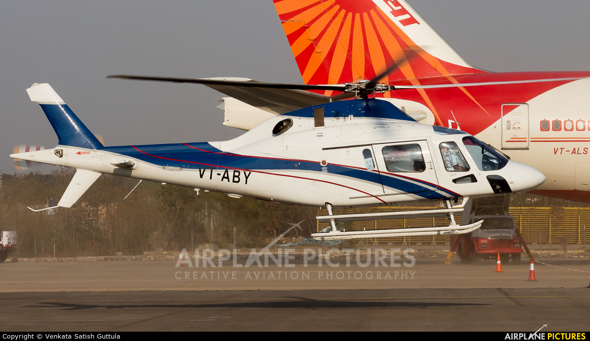 Private VT-ABY aircraft at Begumpet