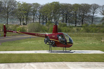 G-ORMB - Scotia Helicopters Robinson R22