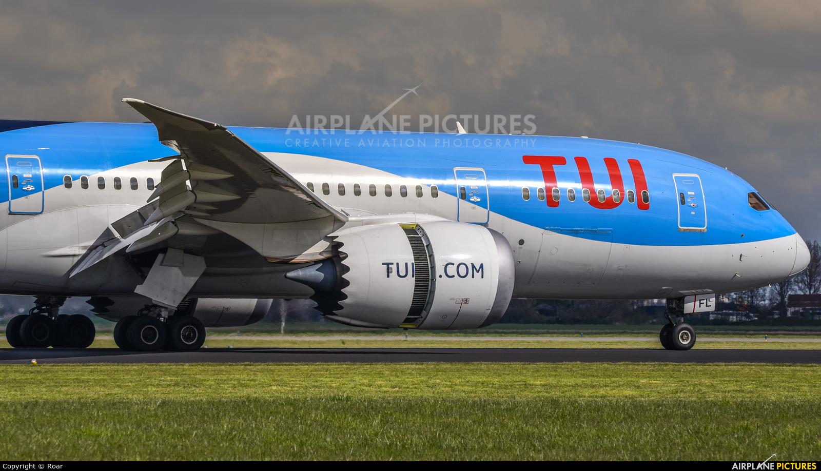 TUI Airlines Netherlands PH-TFL aircraft at Amsterdam - Schiphol