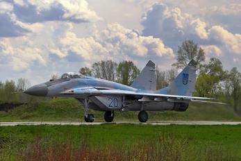 20 - Ukraine - Air Force Mikoyan-Gurevich MiG-29