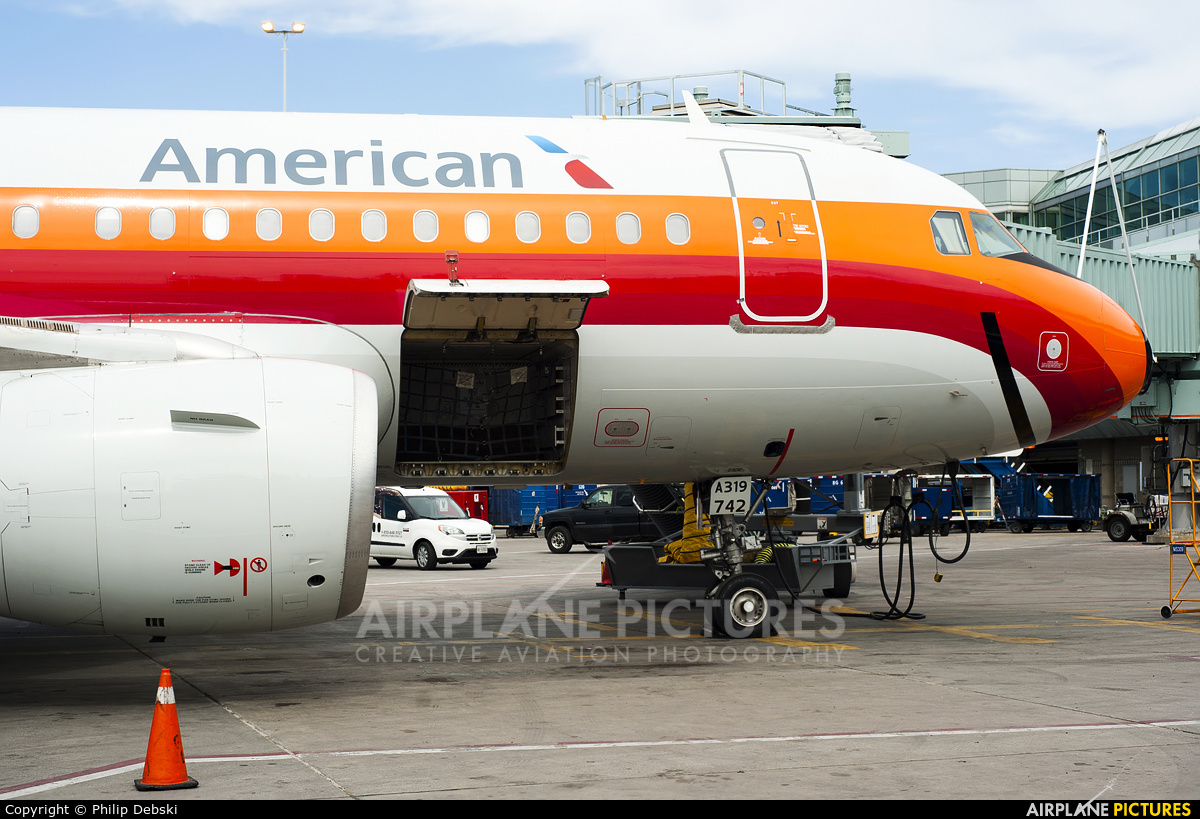 American Airlines N742PS aircraft at Toronto - Pearson Intl, ON