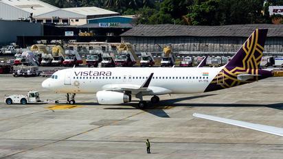 VT-TTG - Vistara Airbus A320
