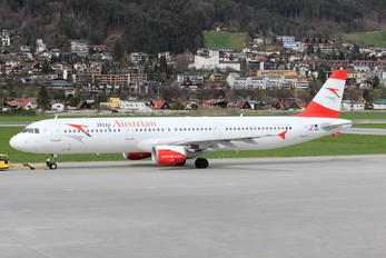 OE-LBC - Austrian Airlines/Arrows/Tyrolean Airbus A321
