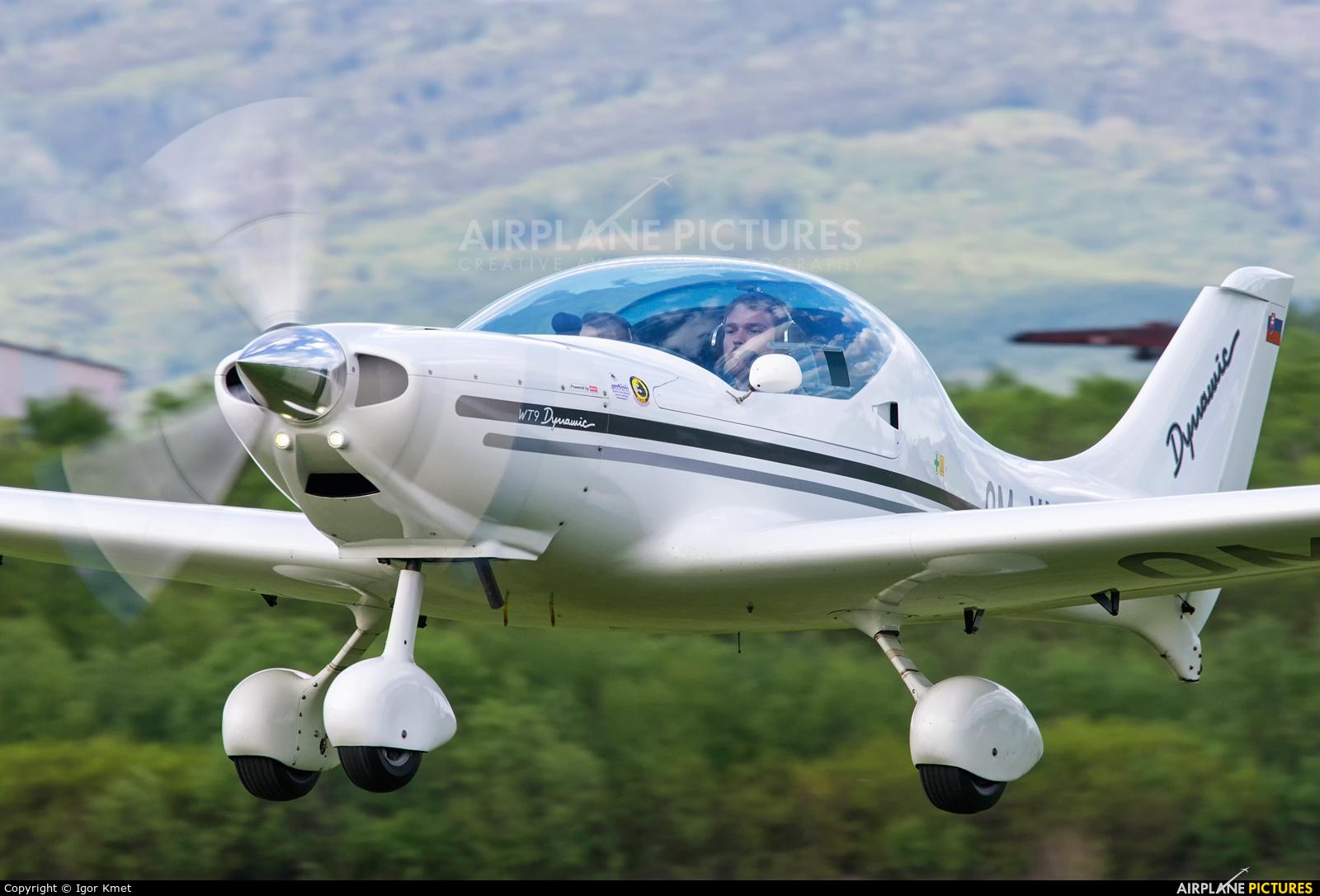 Aeroklub Poprad OM-YNA aircraft at Očová