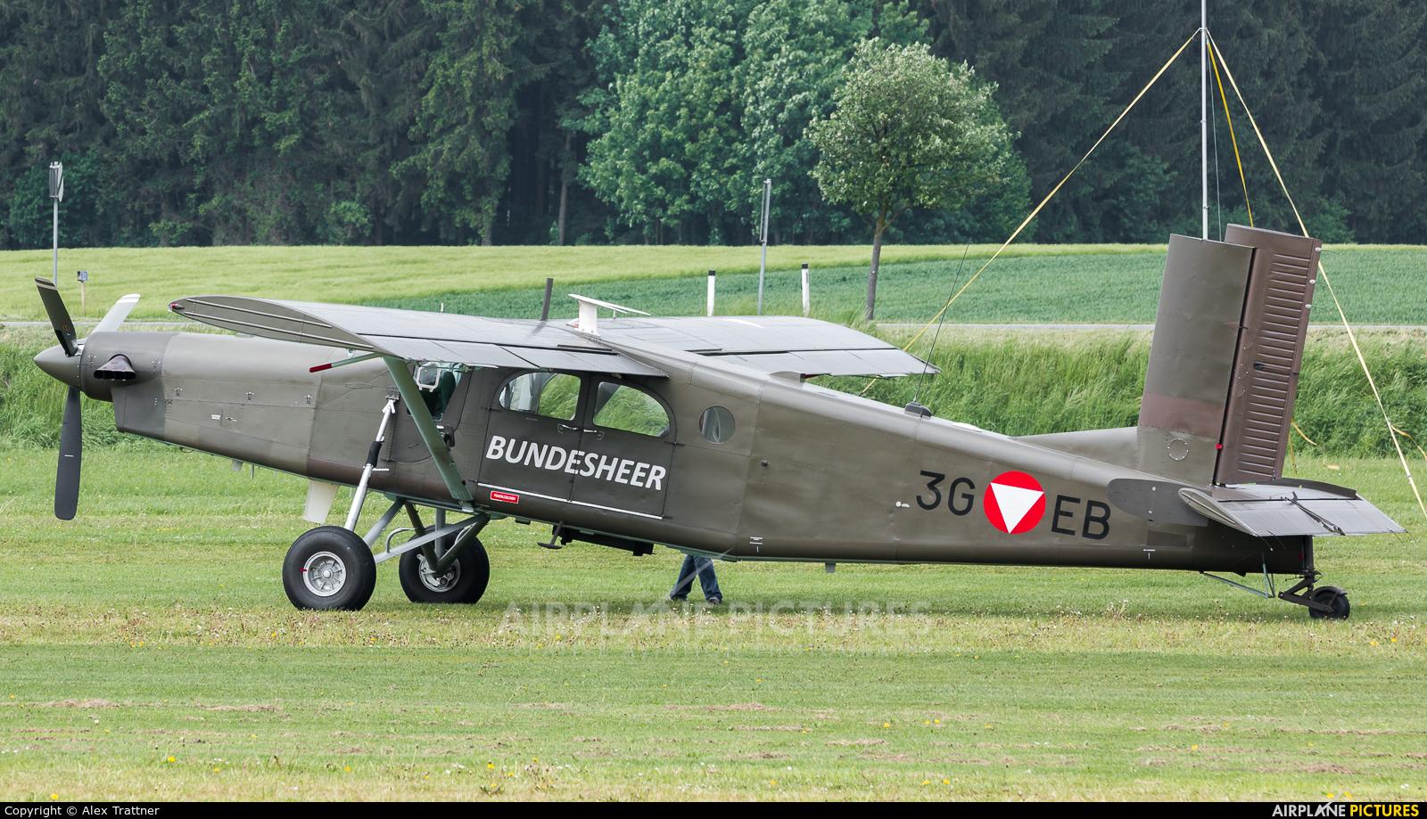 Austria - Air Force 3G-EB aircraft at Völtendorf
