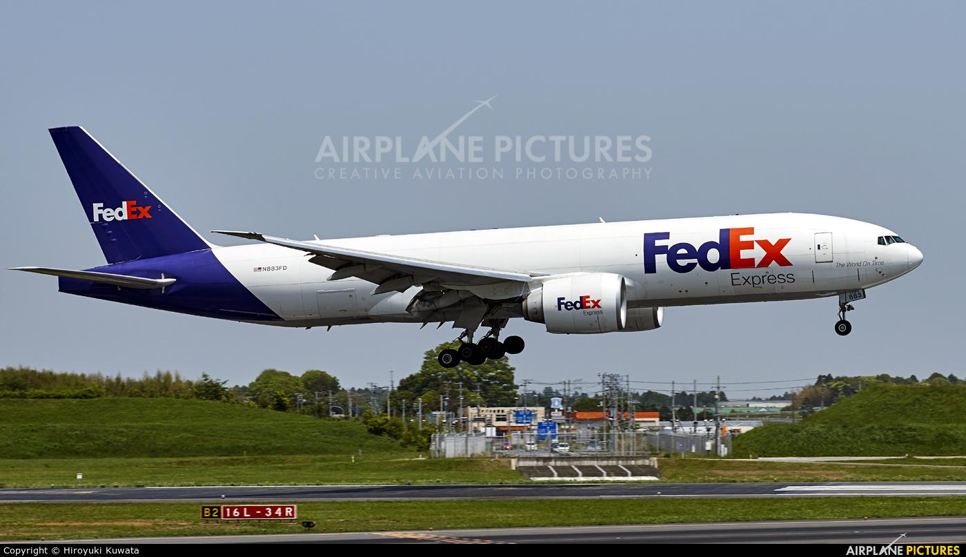 FedEx Federal Express N883FD aircraft at Tokyo - Narita Intl