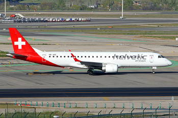 HB-JVQ - Helvetic Airways Embraer ERJ-190 (190-100)