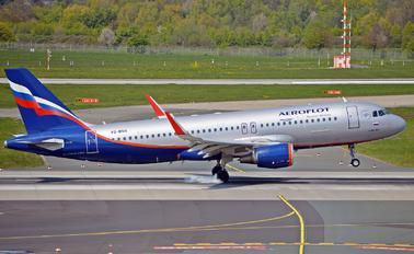 VQ-BSH - Aeroflot Airbus A320