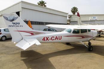 4X-CAU - Private Cessna 172 RG Skyhawk / Cutlass