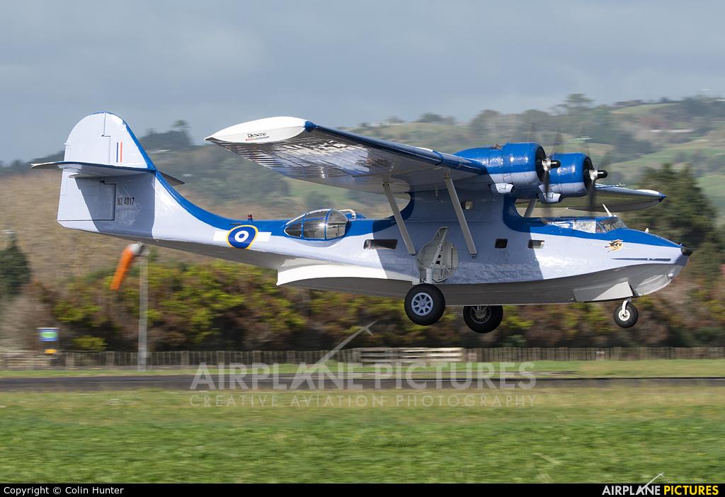 Private ZK-PBY aircraft at Ardmore