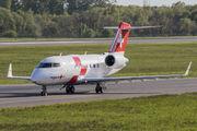 HB-JRC - REGA Swiss Air Ambulance  Canadair CL-600 Challenger 604 aircraft