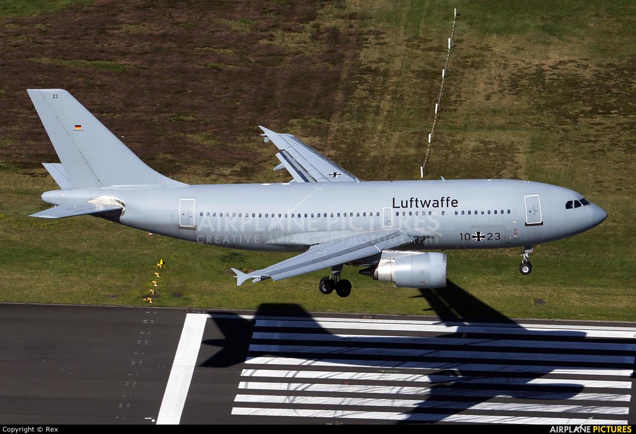 Germany - Air Force 10+23 aircraft at Cologne Bonn - Konrad Adenauer