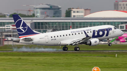 SP-LDE - LOT - Polish Airlines Embraer ERJ-170 (170-100)