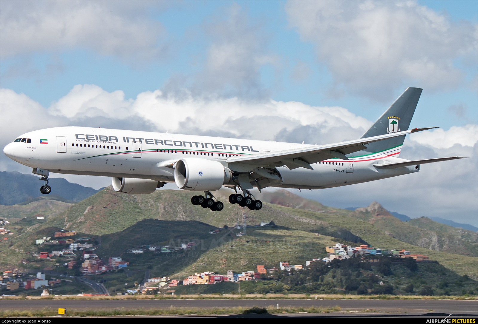 Ceiba Intercontinental CS-TQX aircraft at Tenerife Norte - Los Rodeos